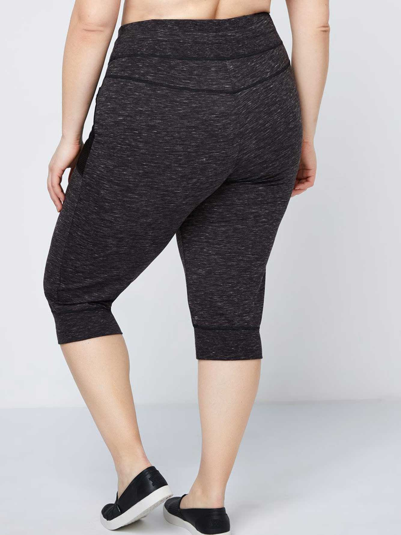 Capri Joggers with Pockets - Athleisure