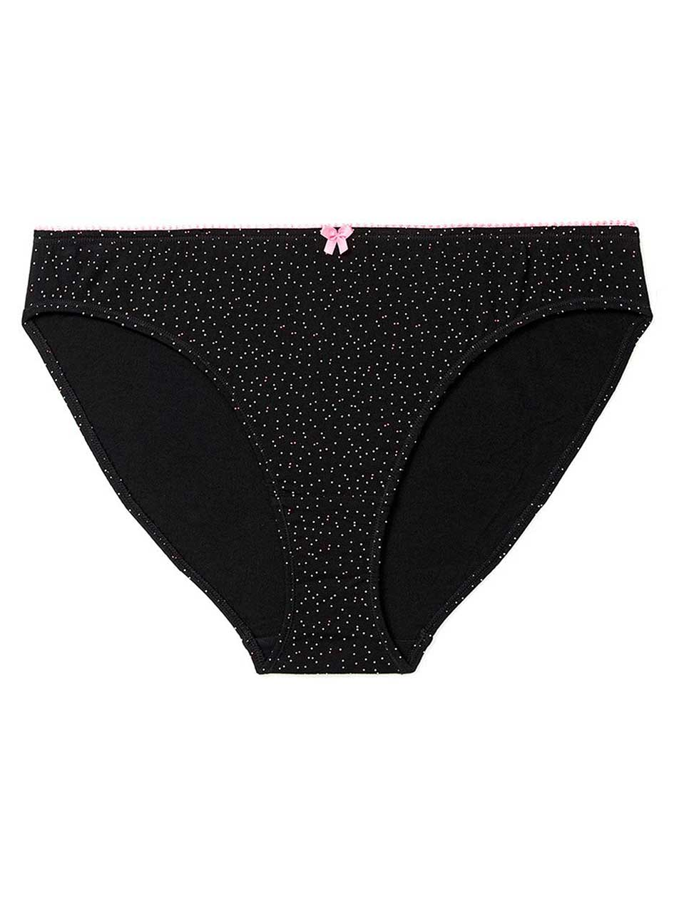 Printed Cotton Bikini Panty - Ti Voglio
