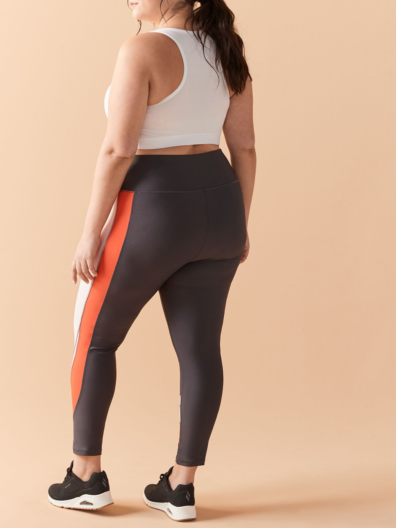 Colour Block High-Rise 7/8 Legging - ActiveZone