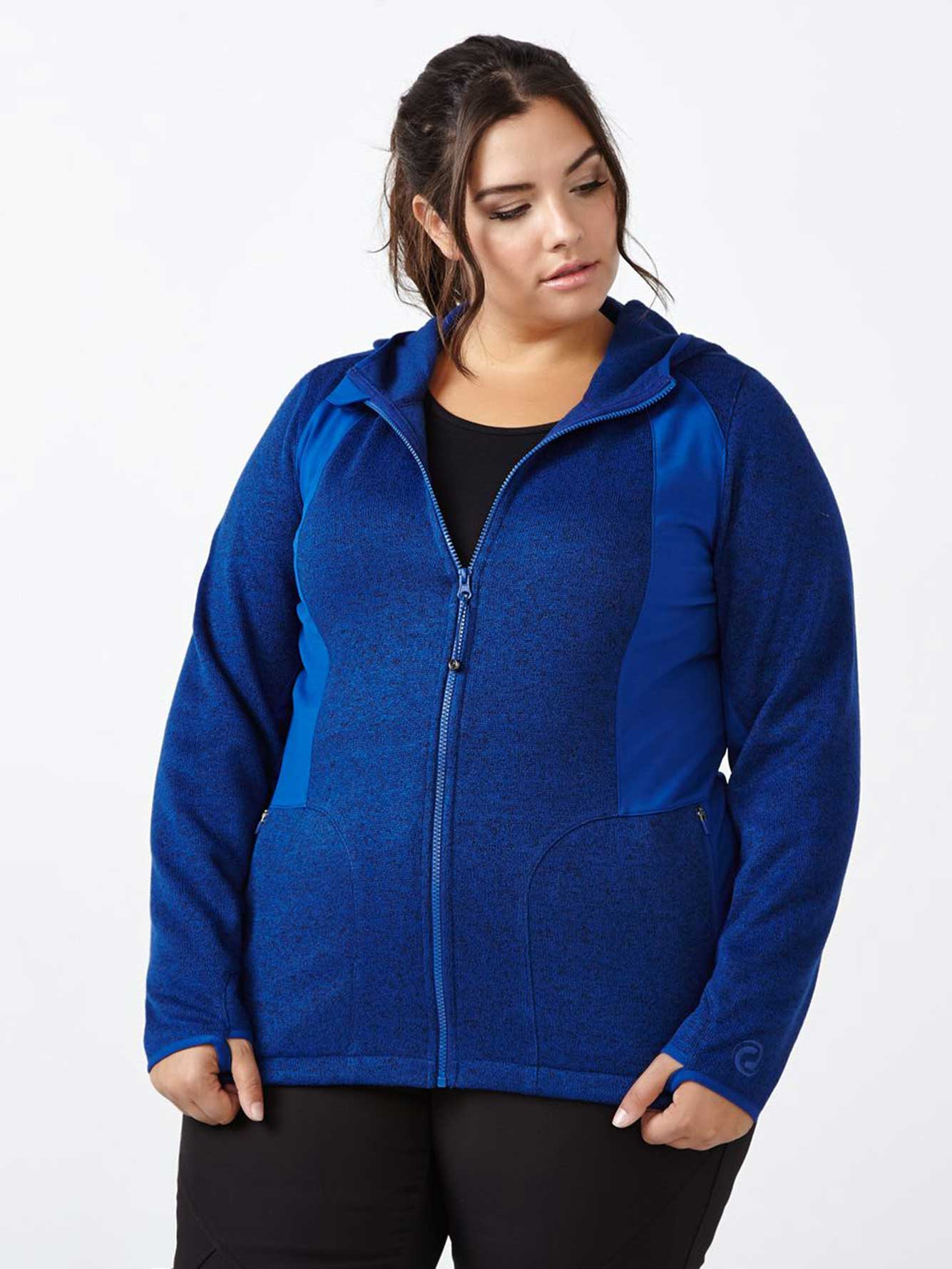 861fb4db279 Sports - Plus-Size Zip Up Hoodie