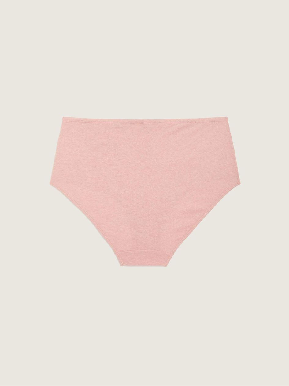 Heather Brief Panty With Placement Print - ti VOGLIO