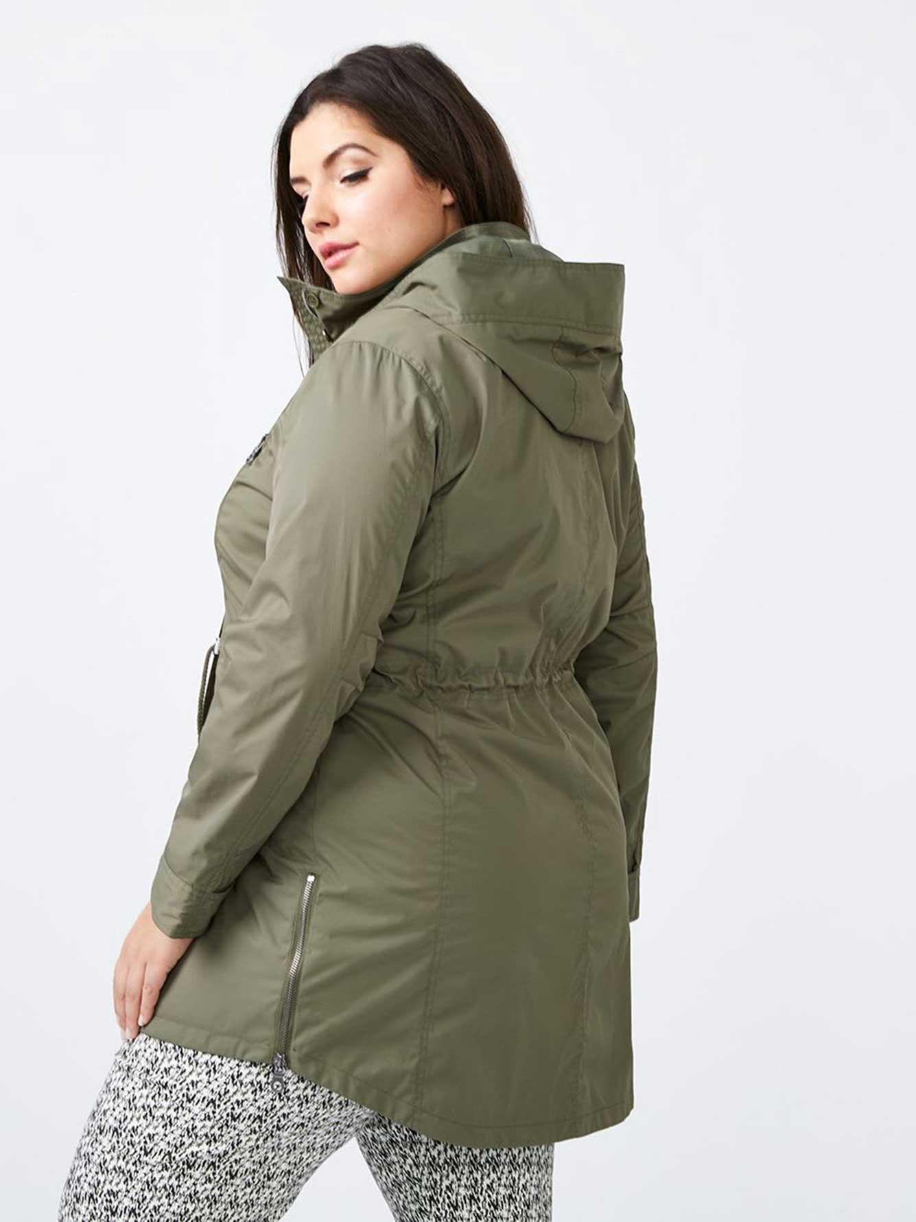 3588067df35 Parka Rain Jacket - In Every Story