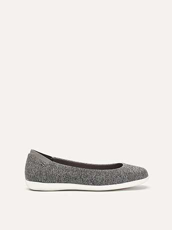 Extra Wide Comfort Ballerina Flat - Addition Elle