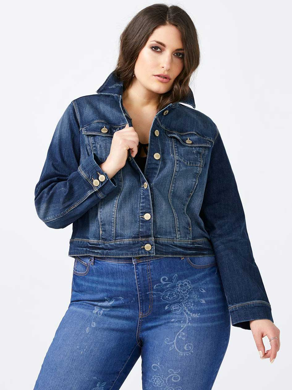 Long Sleeve Denim Jacket - d/c JEANS