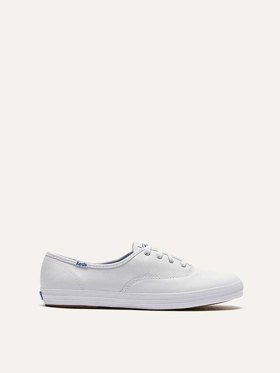 f3363b207451 Wide Champion Oxford Leather Shoes - Keds