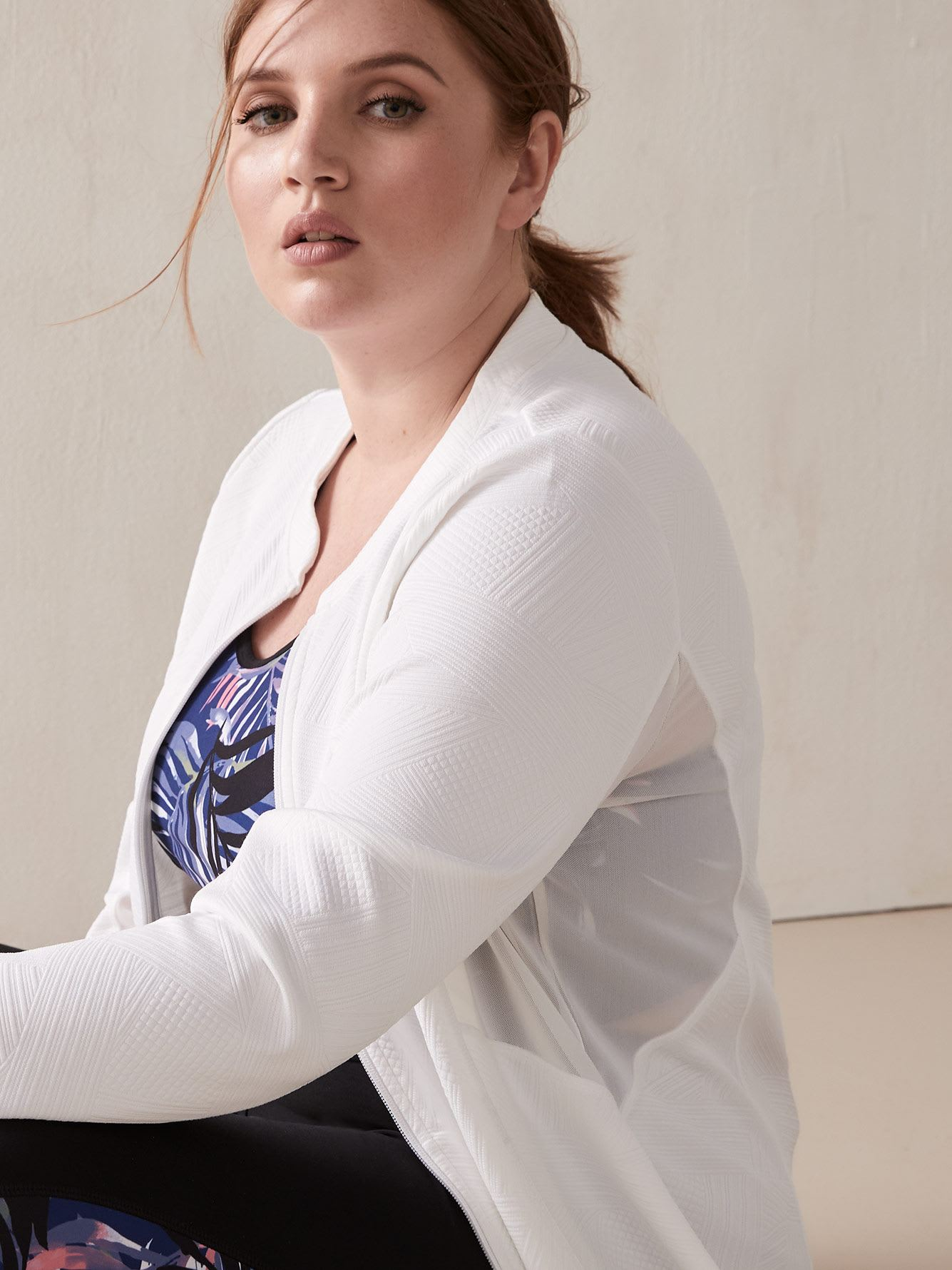 Activewear Zip-Up Jacket