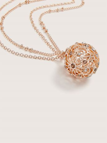 Ball Pendant Necklace - Addition Elle