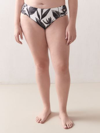 Printed Black & White Bikini Bottom - Body Glove
