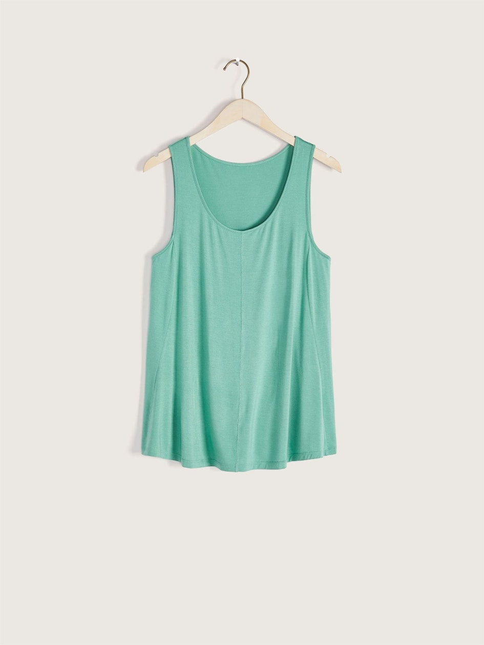 Scoop-Neck Swing Tank - Addition Elle