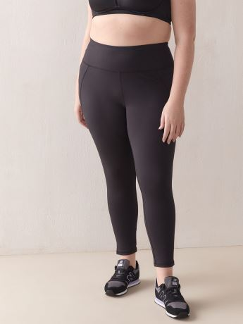 Namaste Basic Black Legging - ActiveZone