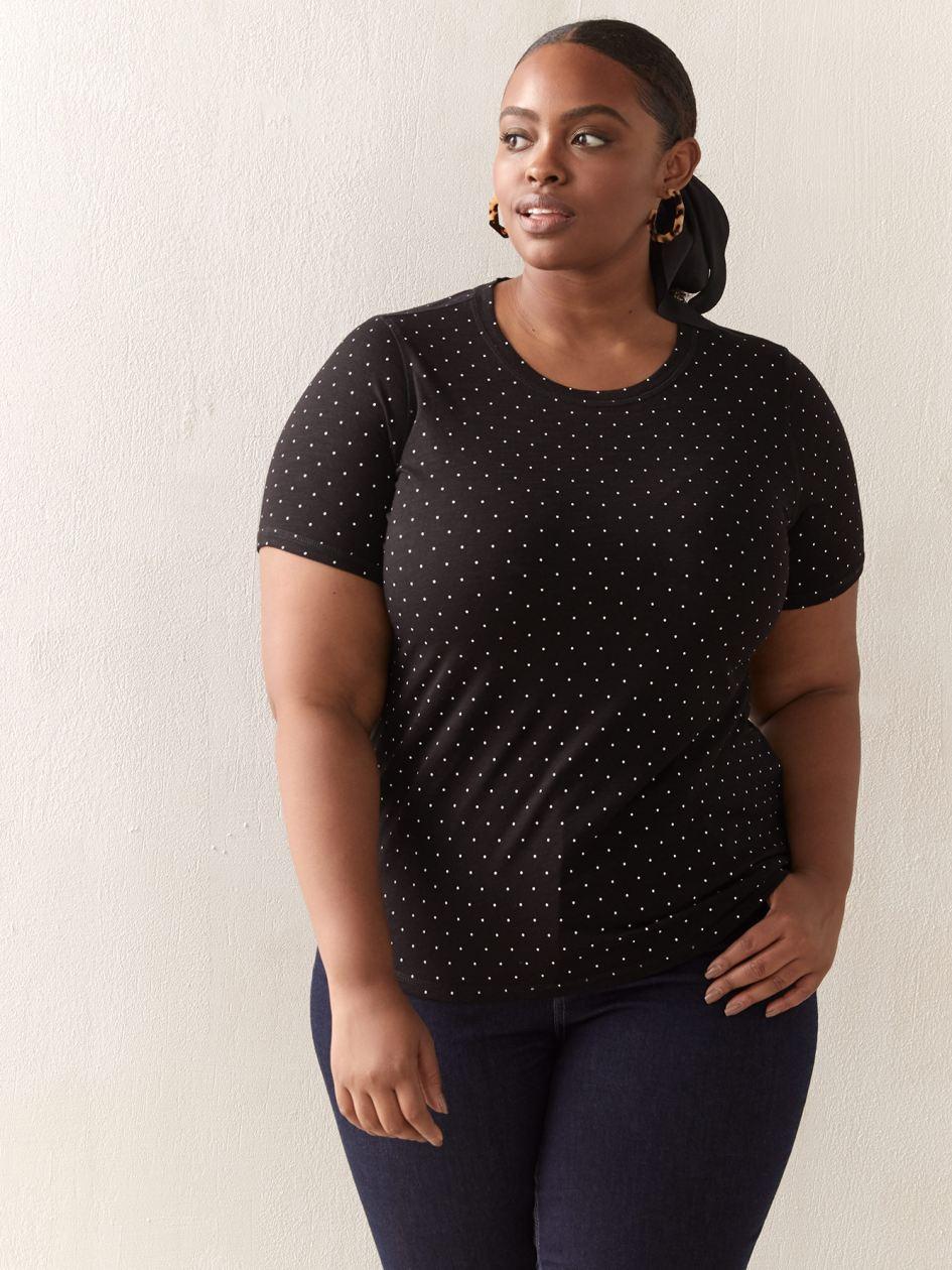 2a1a8c0e832 Plus Size T-Shirts & Tank Tops | Penningtons