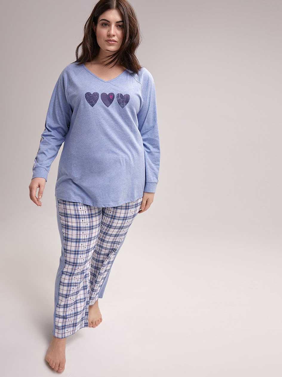 Flannel Pyjama Set - ti Voglio 2ed2c6a9b