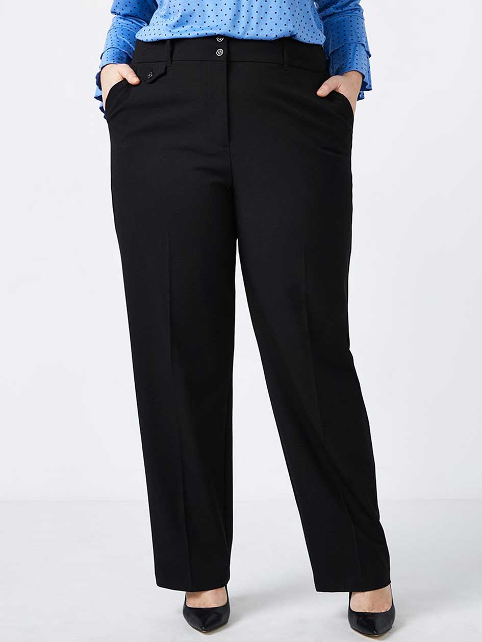Curvy Fit Straight Leg Pant - In Every Story