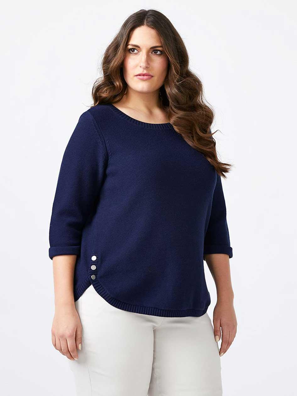 Stylish Plus Size Sweaters   Plus Size Tops   Penningtons