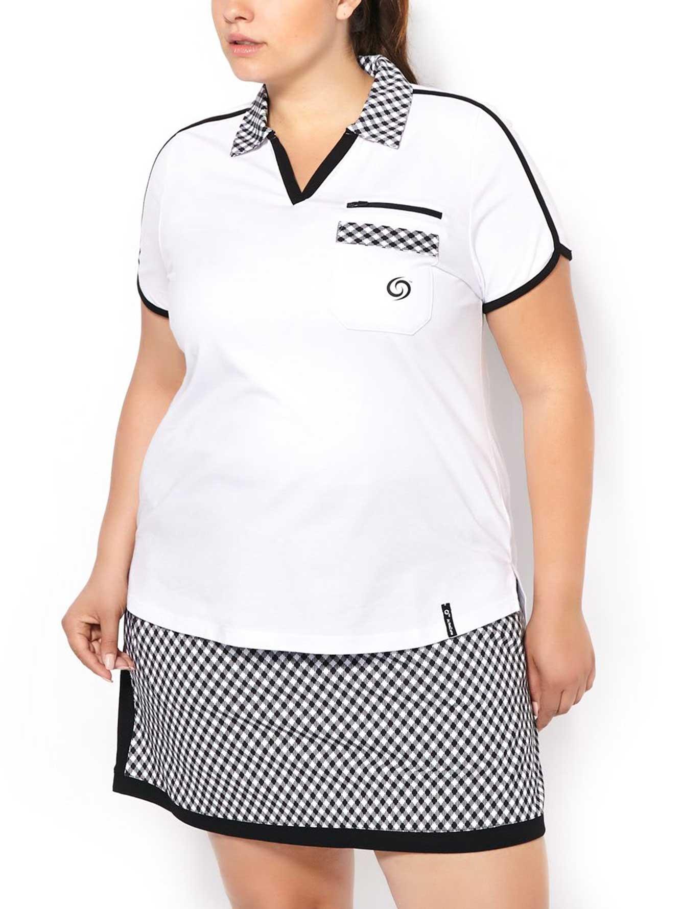 Activezone Golf Plus Size Polo Shirt Penningtons