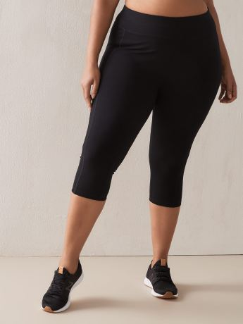 Black Capri Legging - ActiveZone