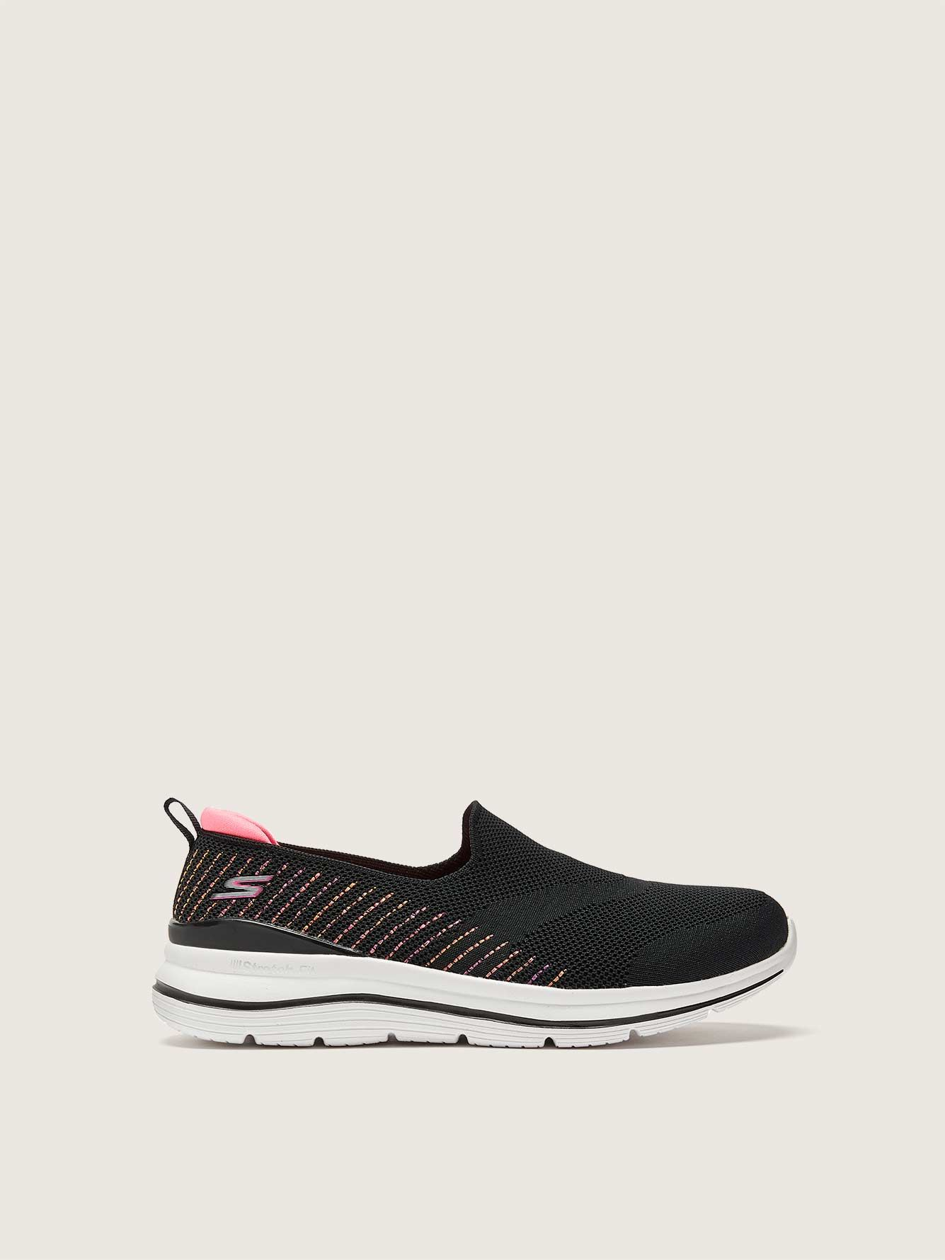 Wide Stretch Slip On Sneaker– Skechers