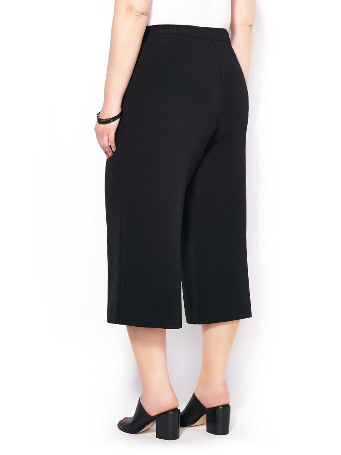 Slightly Curvy Fit Culotte