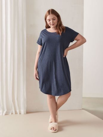 Short Sleeve Sleepshirt - Déesse Collection