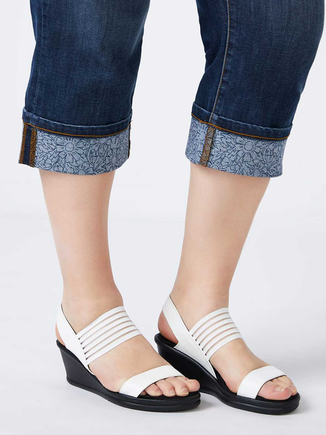 Wide-Width Wedge Sandals - Skechers