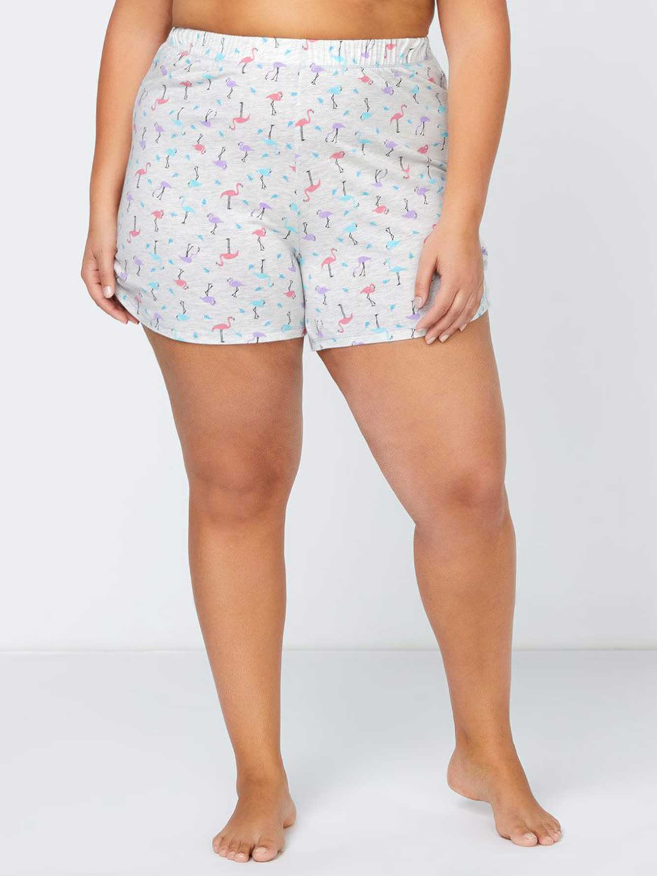 Short de pyjama imprimé avec fronces - ti Voglio   Penningtons 0dc6a4cf778