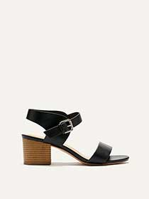 Wide Block Heel Sandals