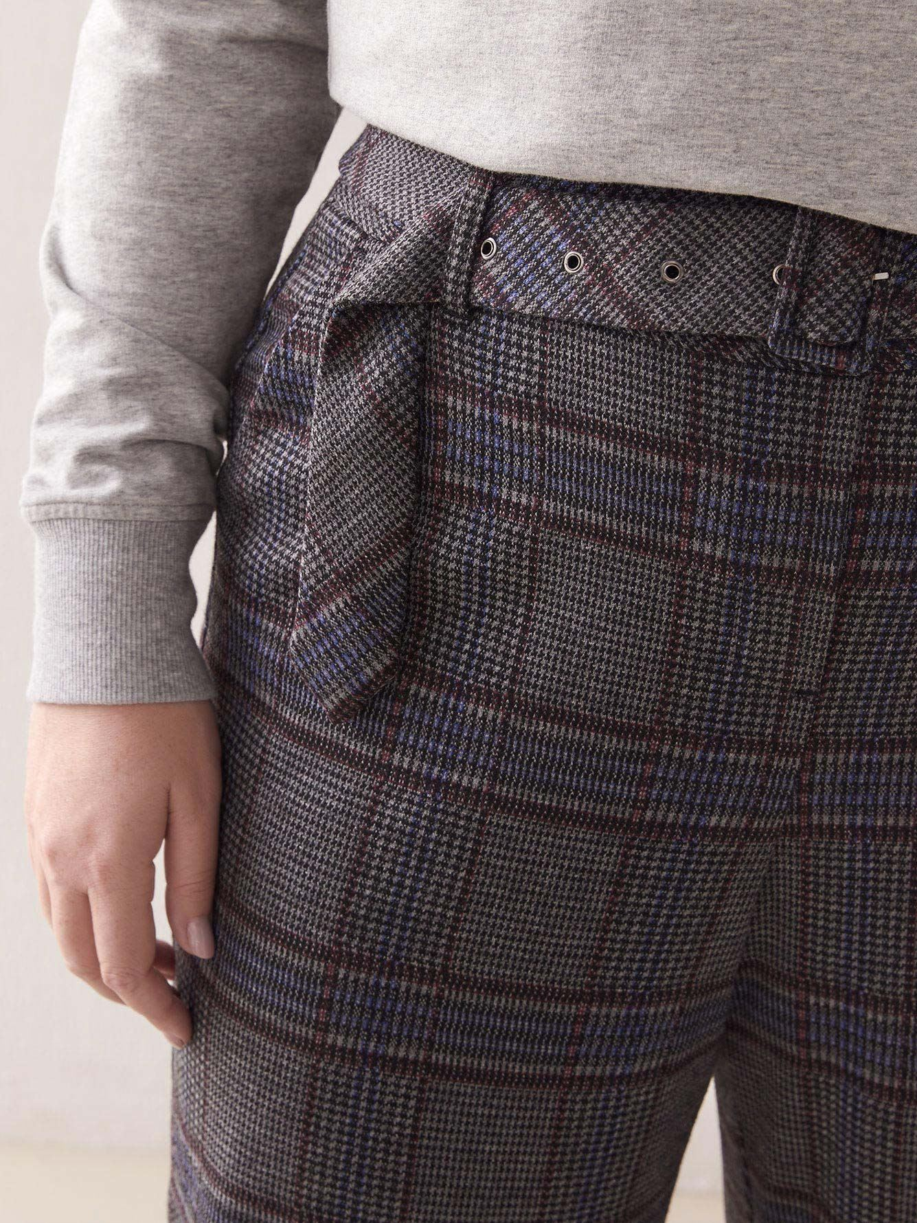Cropped Plaid Pant - Addition Elle