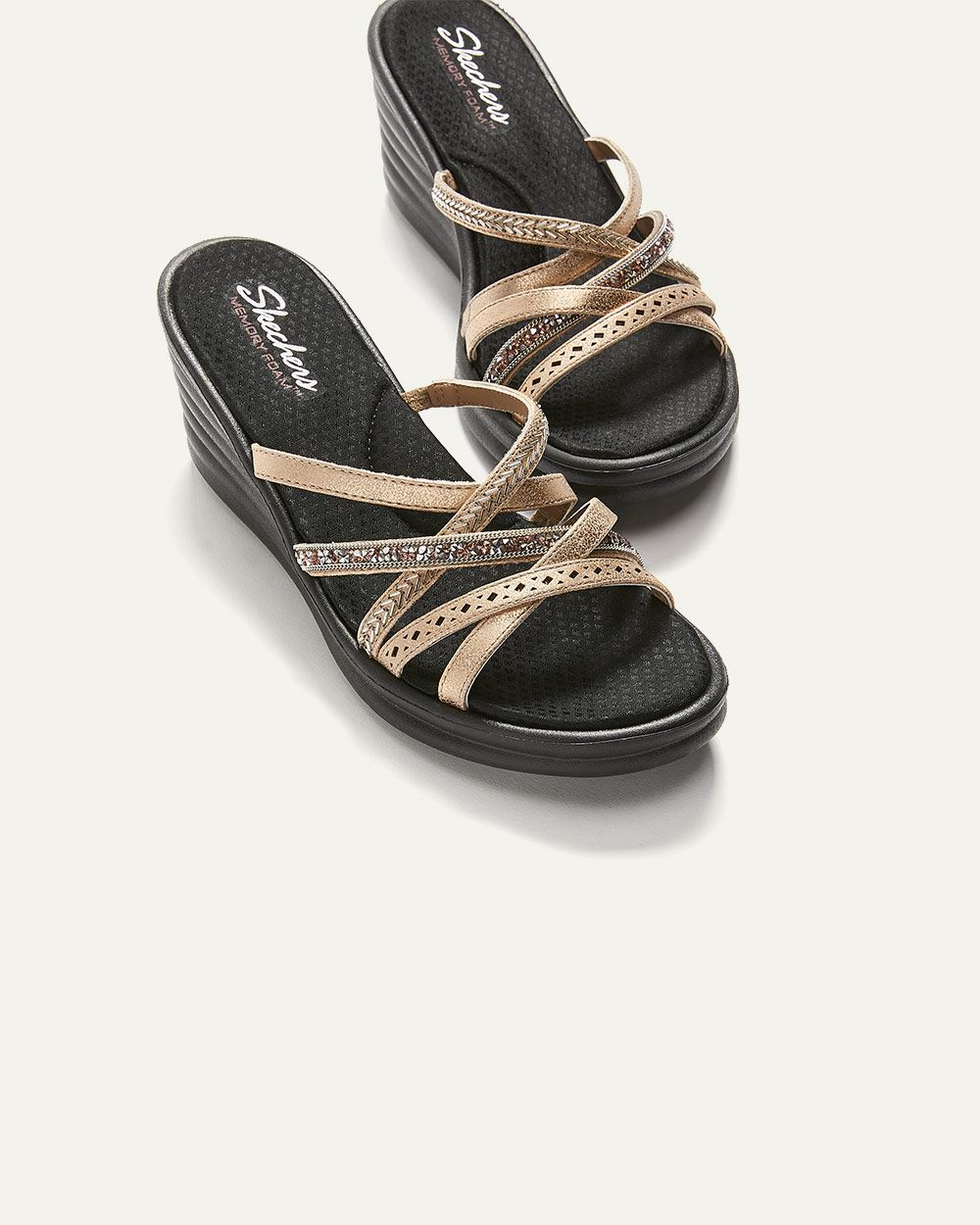 New Lassie - Wide Width Wedge Sandals