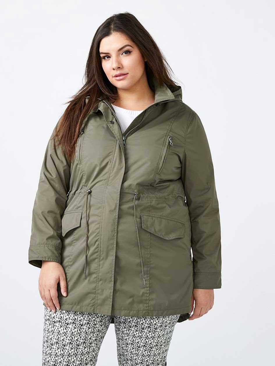 Parka Rain Jacket - In Every Story