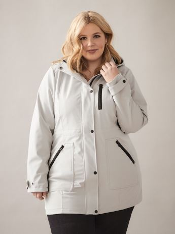 Mid-Length Softshell Anorak - In Every Story