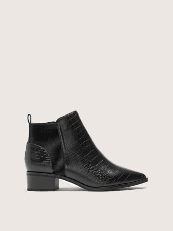 Wide Width Crocodile Chelsea Boot - Addition Elle
