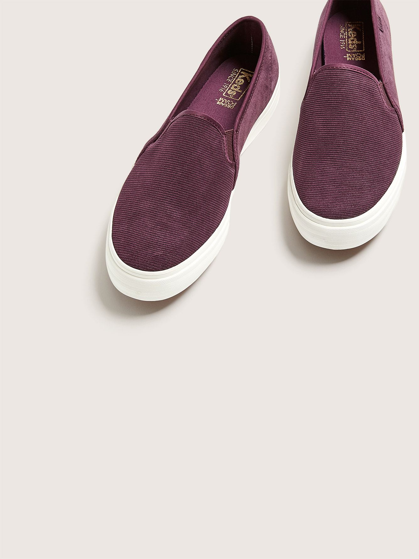Wide Width Slip On Double Decker Sneakers - Keds