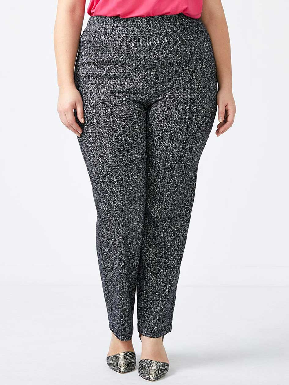 ONLINE ONLY - Tall Savvy Printed Straight Leg Pant - In Every Story