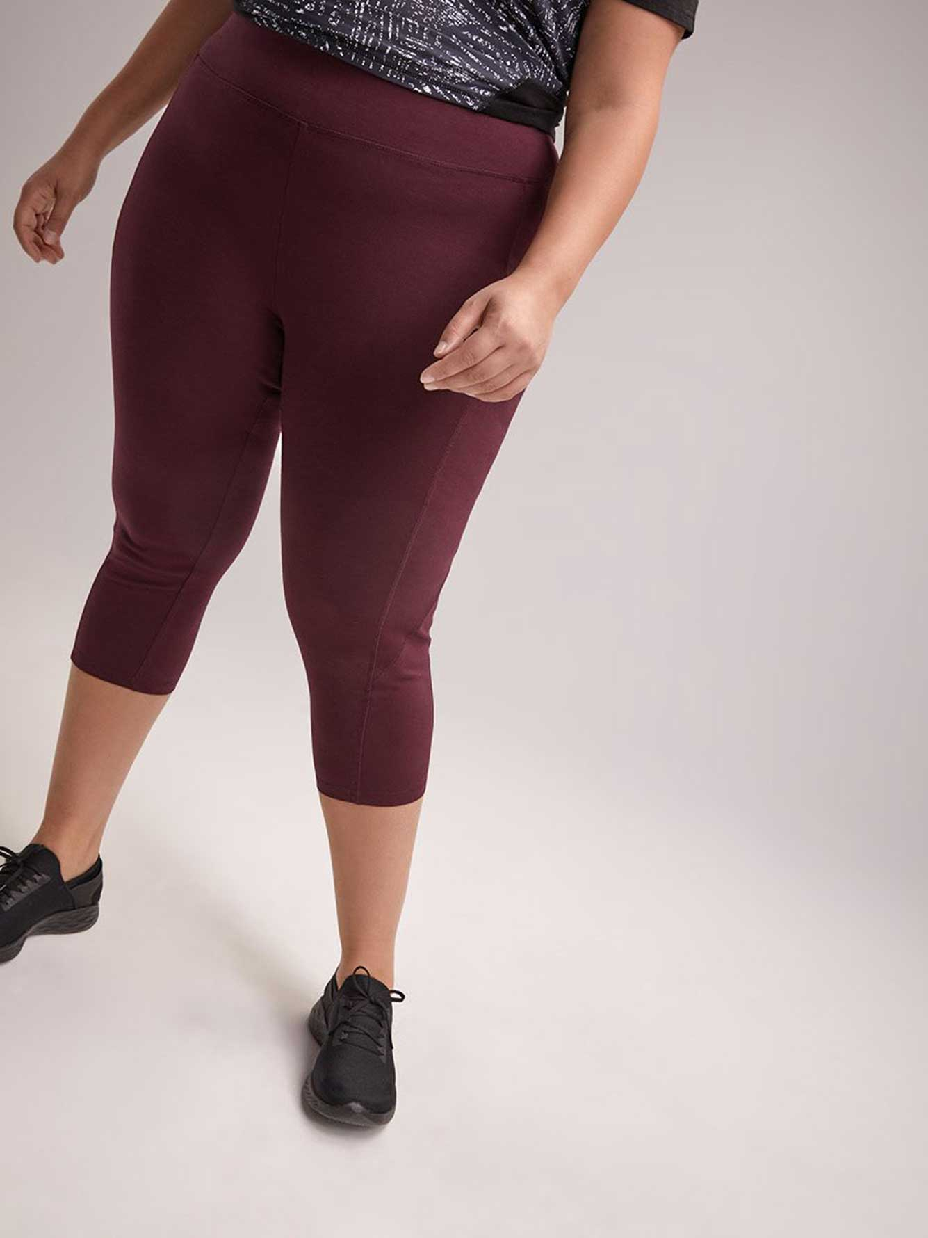 Plus-Size Capri Legging - ActiveZone
