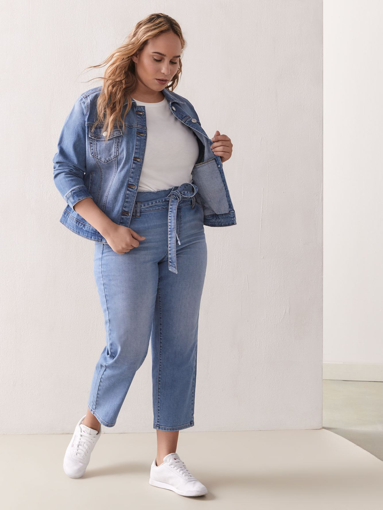 Classic Denim Jacket - Addition Elle