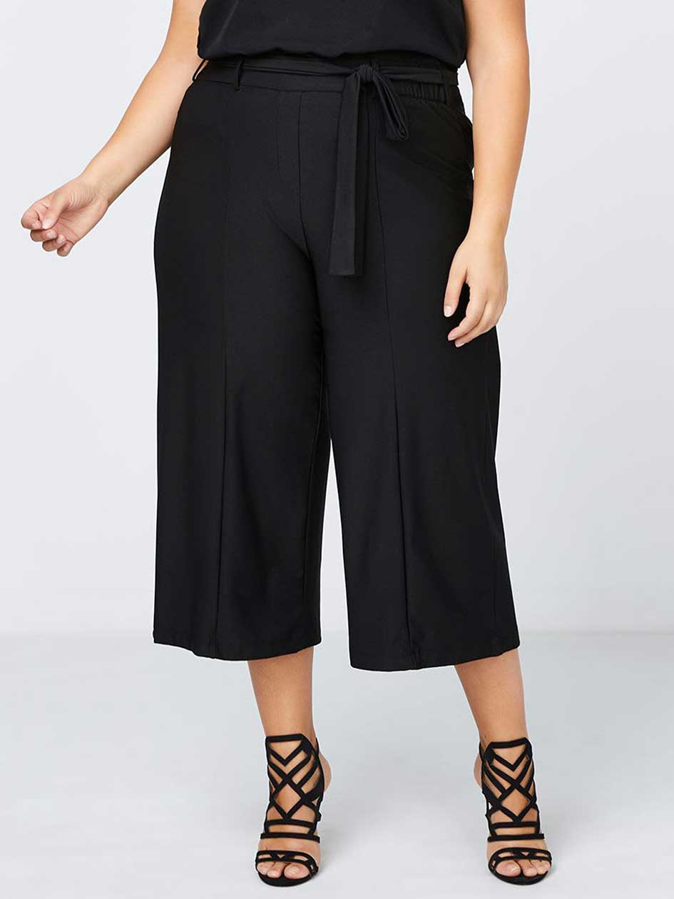 Gaucho Capri with Belt - In Every Story