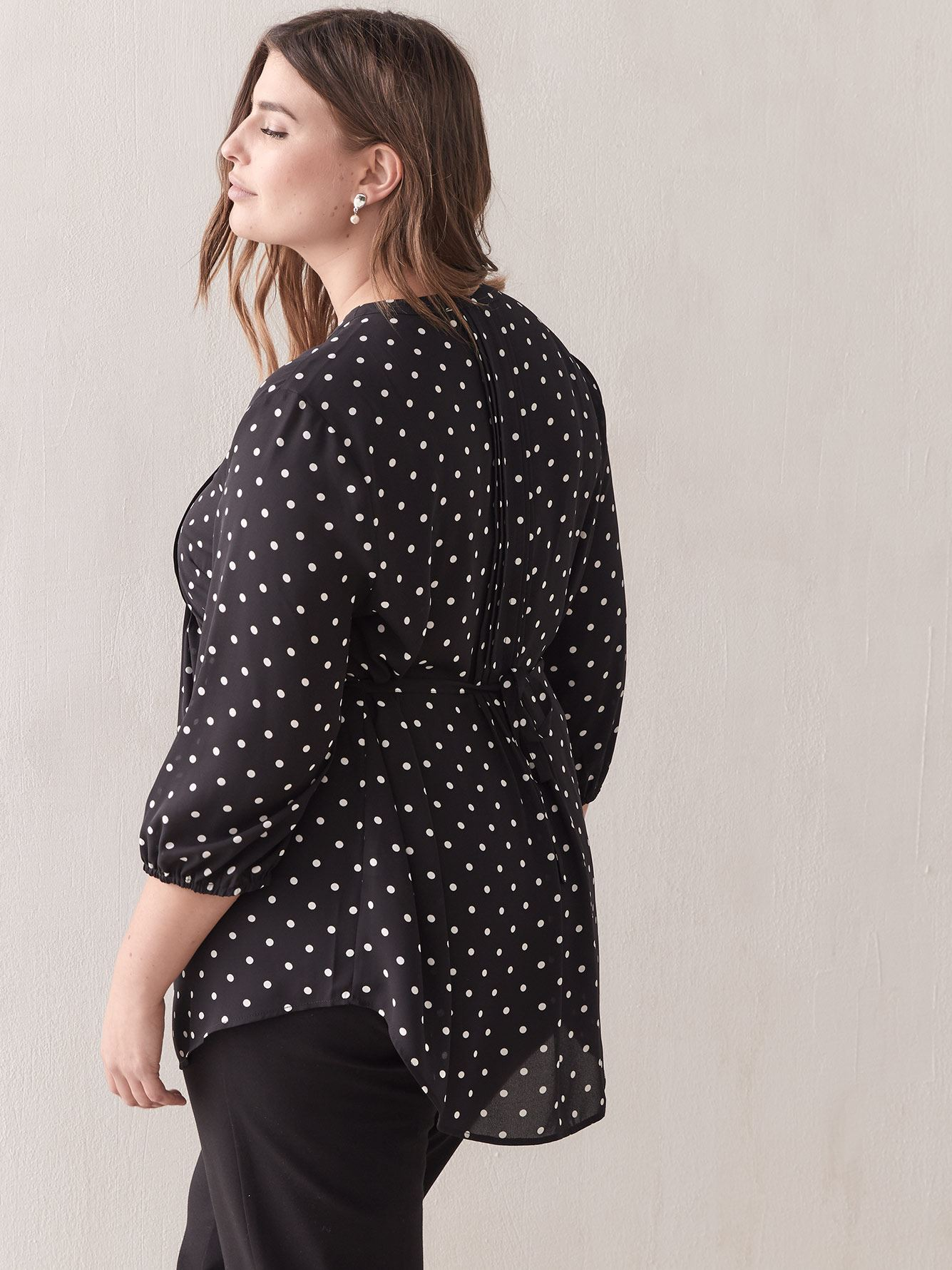 Pin-Tuck Blouse - In Every Story
