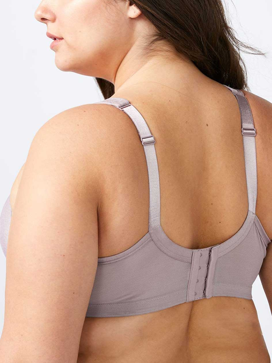 Padded Wirefree Bra with Lace, G & H Cups - ti Voglio