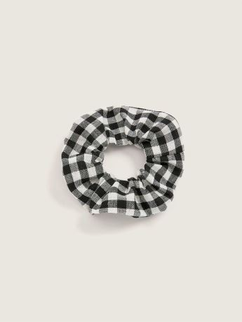 Vichy Cotton Hair Scrunchie - In Every Story