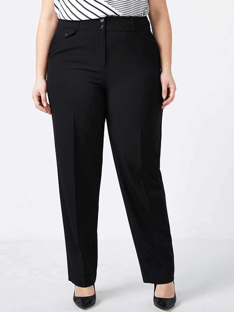 Slightly Curvy Fit Straight Leg Pant - In Every Story
