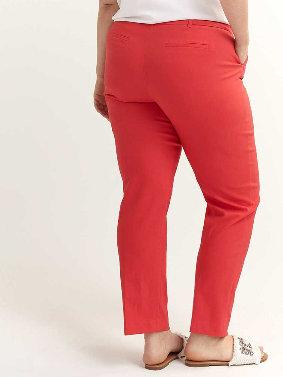 Petite - Savvy Soft Touch Straight Leg Pant