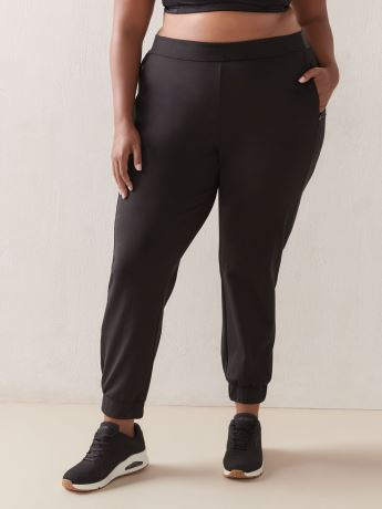 Stretchable Jogger Ankle Pant with Zipper Pockets - ActiveZone