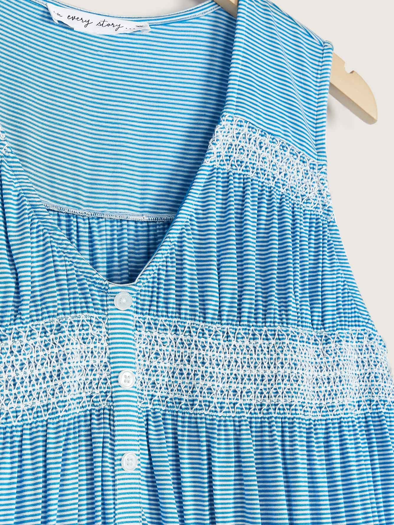Smocked Sleeveless Top - In Every Story