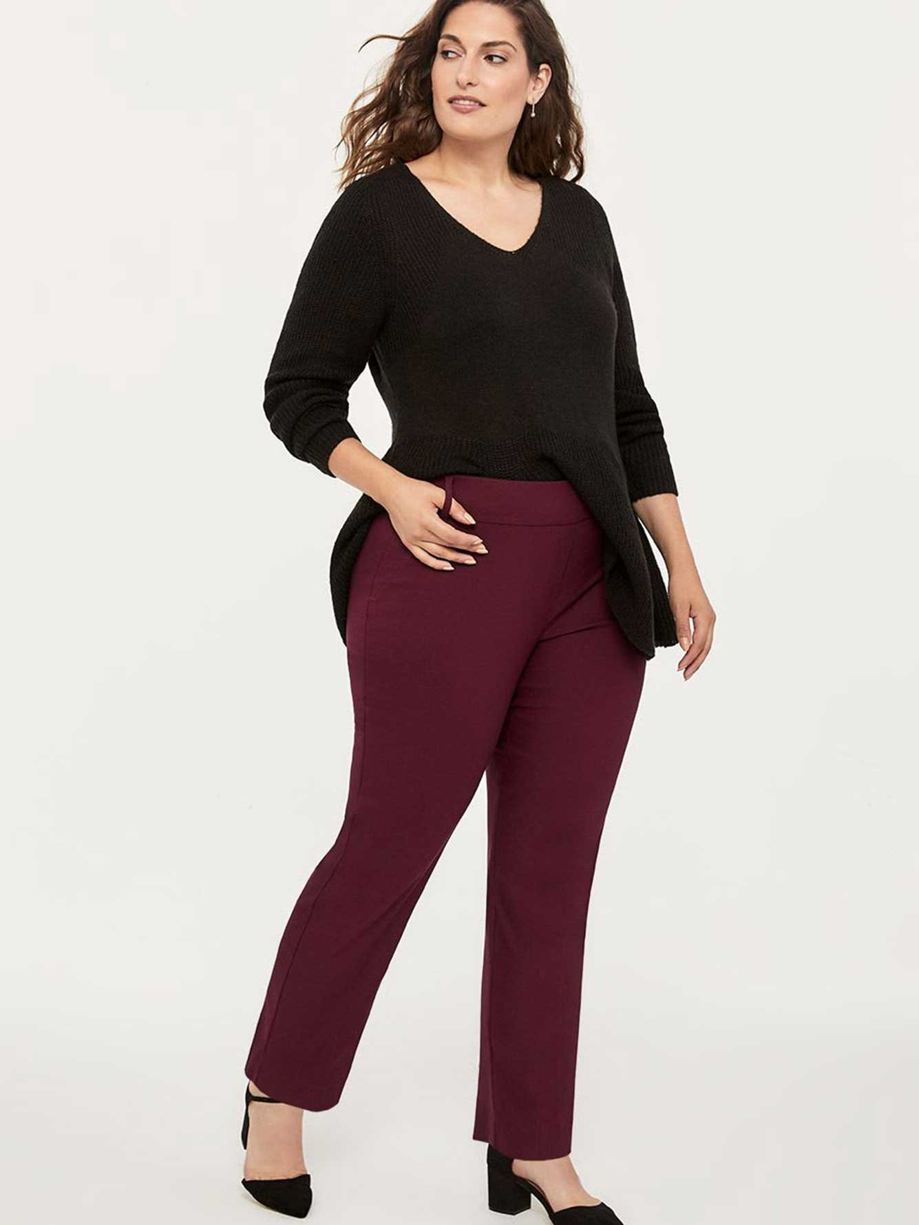 Petite Savvy Straight Leg Pant - In Every Story