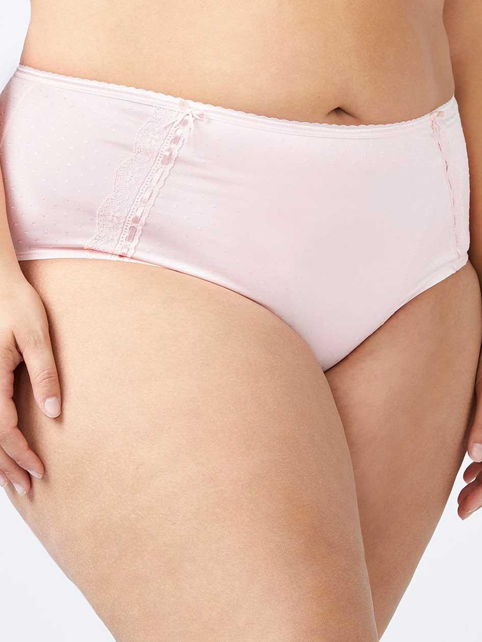 Brief Panty with Lace Trim - Ti Voglio