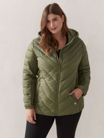 Manteau compressible à capuche - ActiveZone