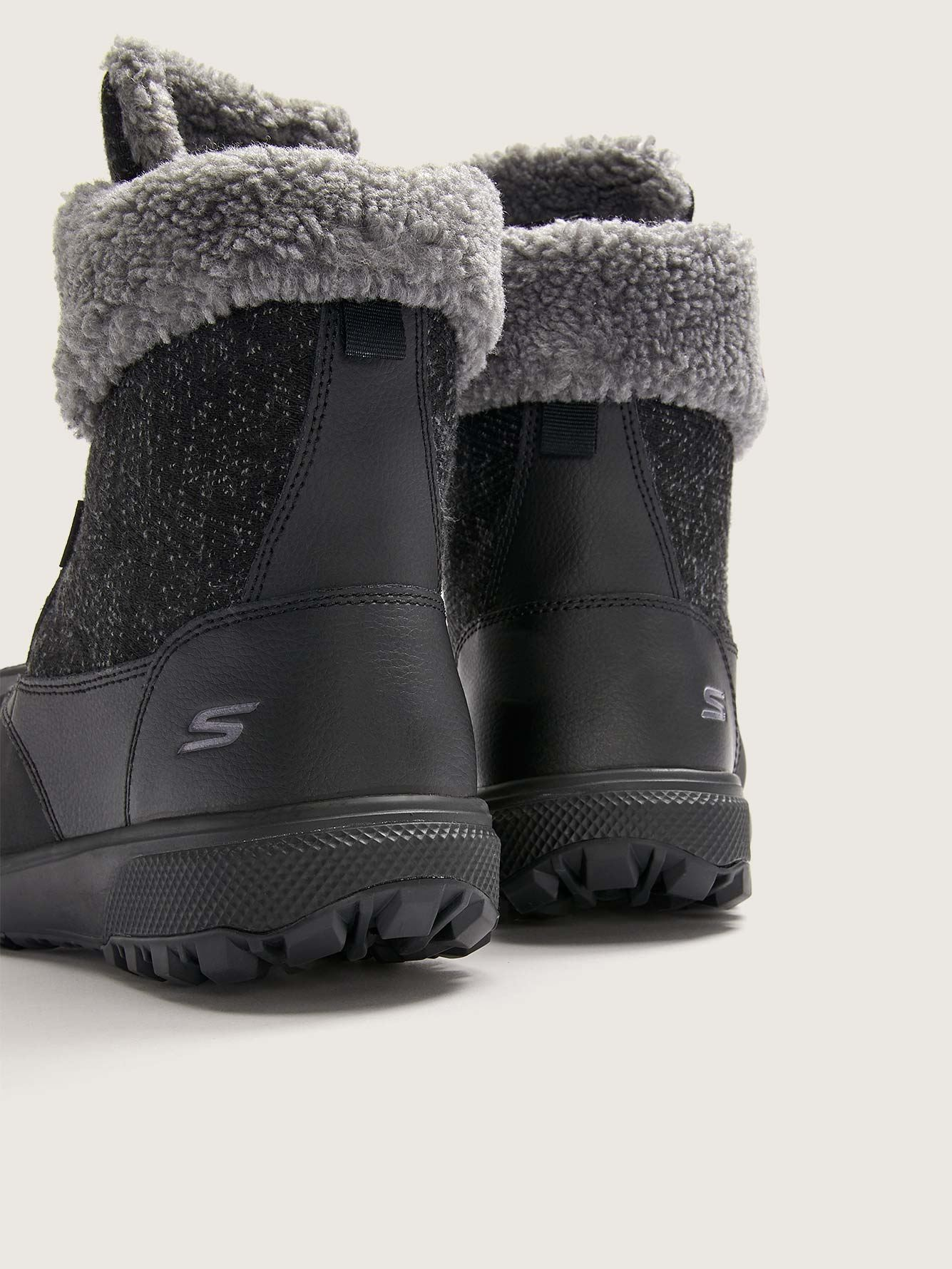 Wide Mid-Calf Boot with Faux Fur Lining - Skechers