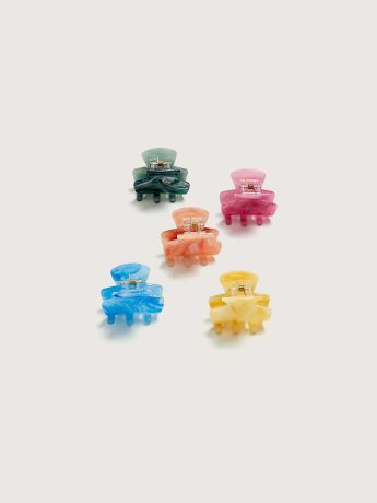 Mini Claw Hair Clips, 5-Pack - Addition Elle