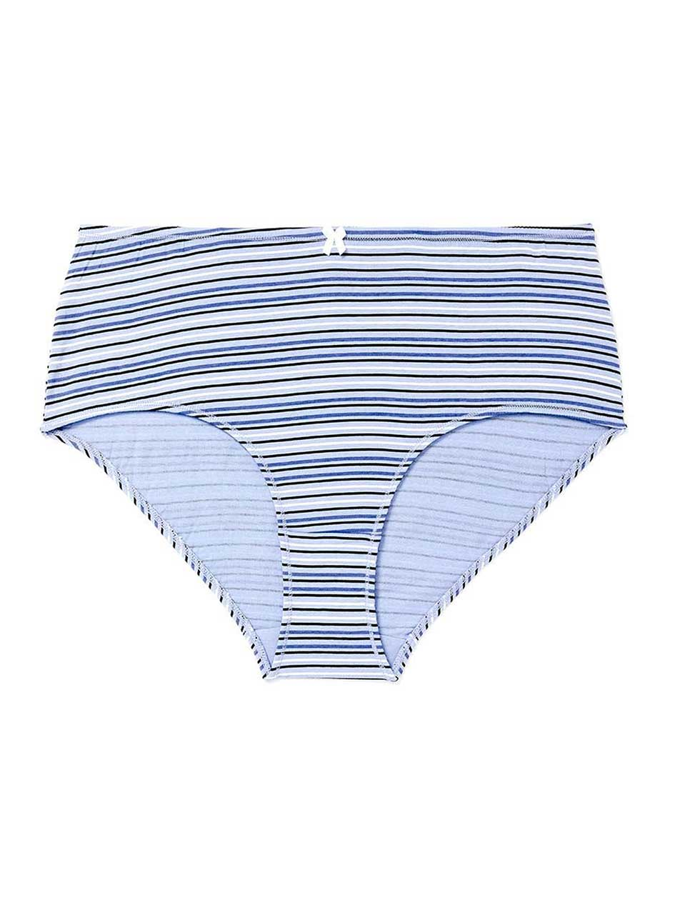 Printed Cotton Brief Panty - ti Voglio