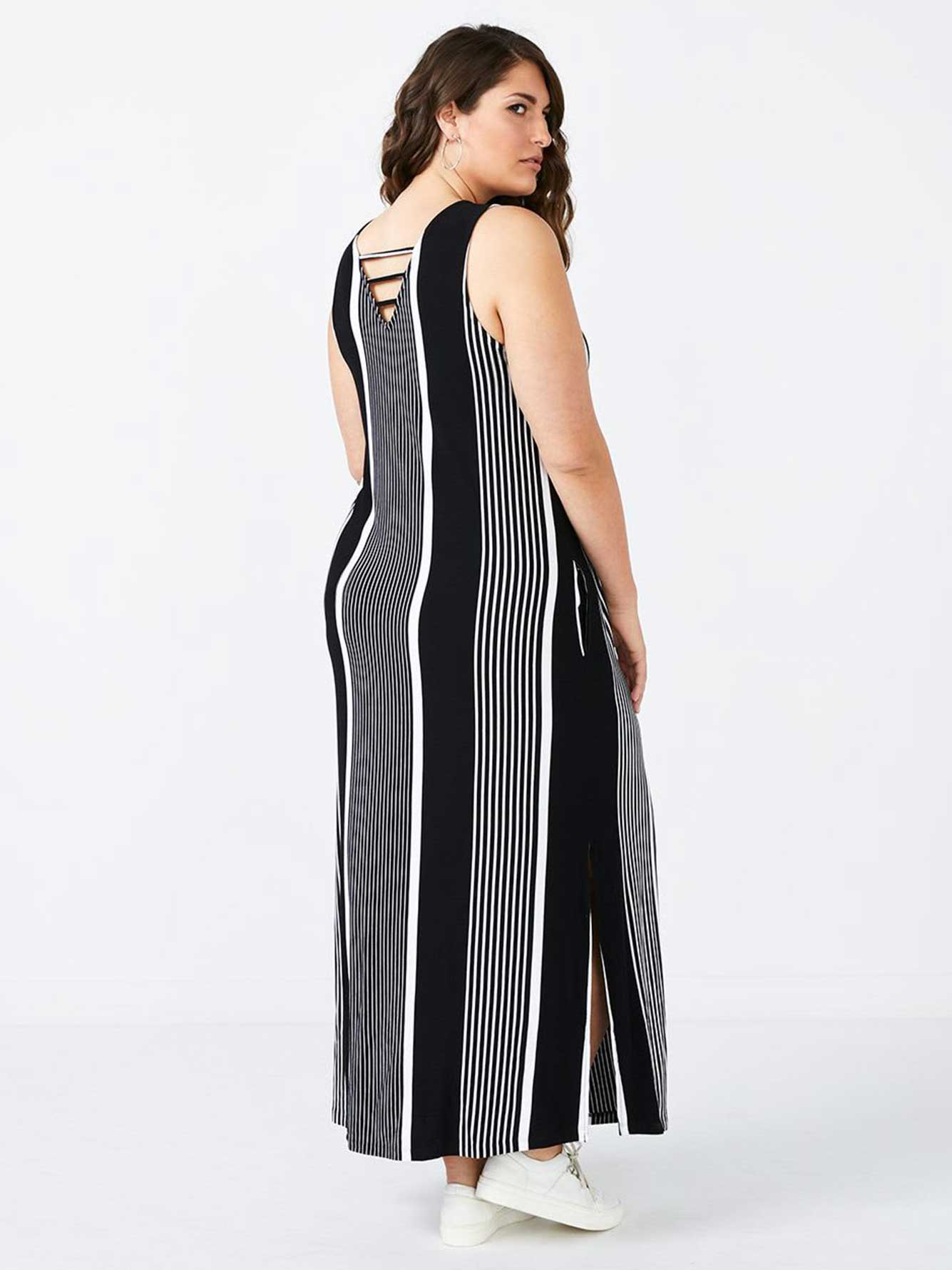 e66ff111f5f Printed Striped Maxi Dress - In Every Story